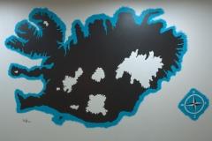 Artwork by JakoB of Iceland - hhostel.is